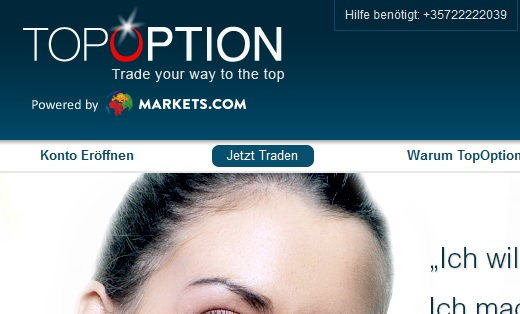 Vorstellung binäre Optionen Broker TopOption