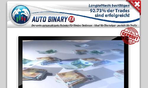 Eigener Test mit Auto Binary EA Software