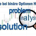 Analyse bei binäre Optionen Handel