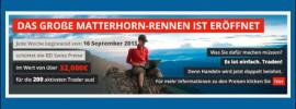 Matterhorn-Rennen beim Broker BDSwiss