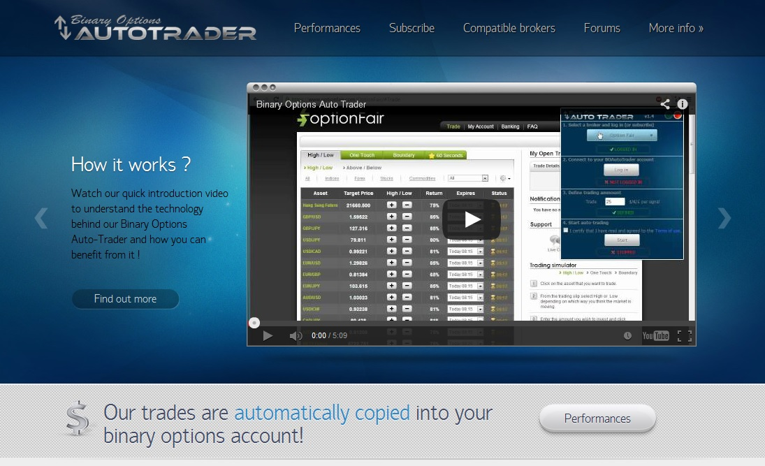 Binary option autotrader