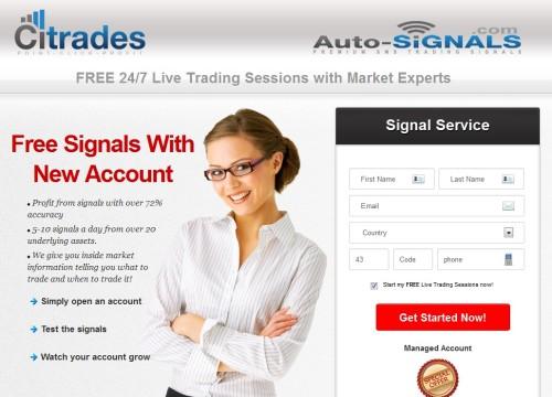 Citrades - Signal Service