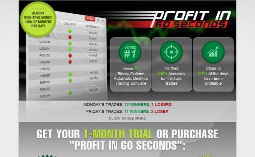 Seite von Software Profit-in-60-Seconds