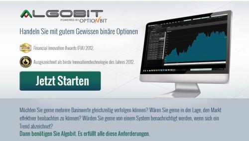 Algobit Software mit Signalservice und Autotrading