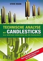Buch über technische Analyse mit Candlesticks