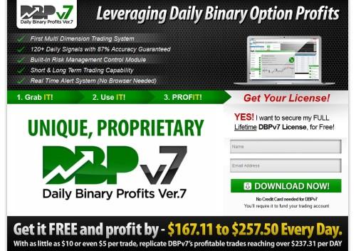 Seite von Daily Binary Profits