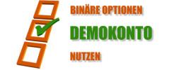 Demokonto für binäre Optionen nutzen