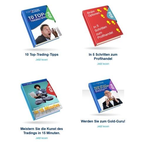 4 kostenlose Ebooks bei TopOption