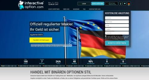 Der Binäre Optionen Broker Interactiveoption