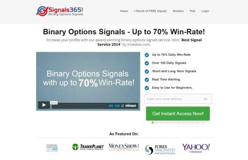 Seite von Signals365 - Signale binäre Optionen