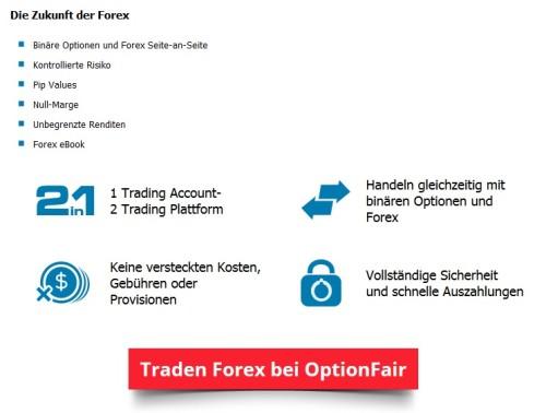 Erklärung bei OptionFair zu Forex und binäre Optionen