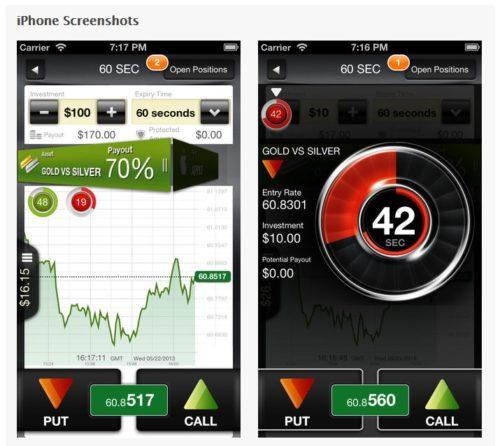 Binäre Optionen Handel mit iOS App von BDSwiss