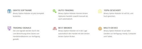 Wichtige Neuigkeiten über Binary-Option-Robot Software