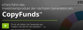 Erklärung Social Trading Bereiche bei Broker eToro