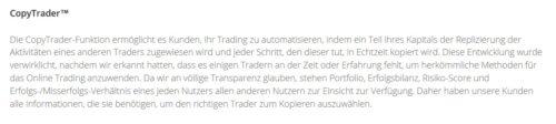 Informationen zu Social Trading beim Broker eToro
