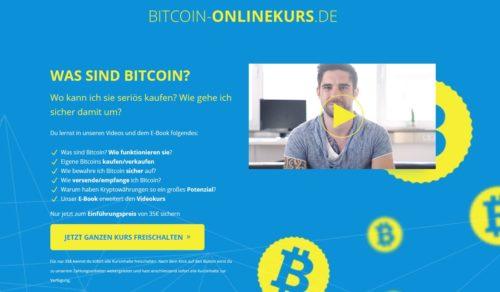 Der Bitcoin-Onlinekurs bietet umfangreiche Informationen über Bitcoin